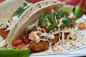 Gourmet Fish Tacos